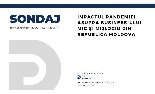 Participați în sondajul organizat de DAD Accountant privind impactul COVID-19 asupra IMM-lor