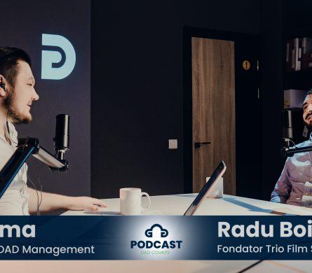 Podcast DAD Counts – #3 – Business-ul de producție video în Republica Moldova