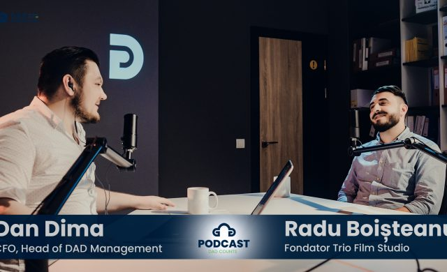Podcast DAD Counts – #3 – Business-ul de producție video în Republica Moldova